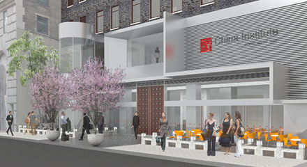 China Institute's moved to LES