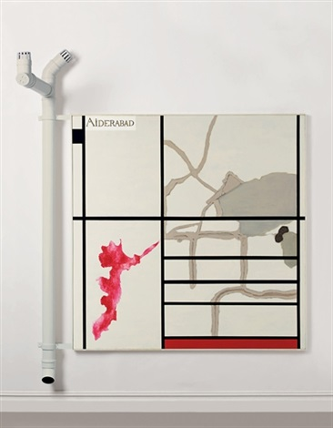 Atul Dodiya, Cracks in Mondrian